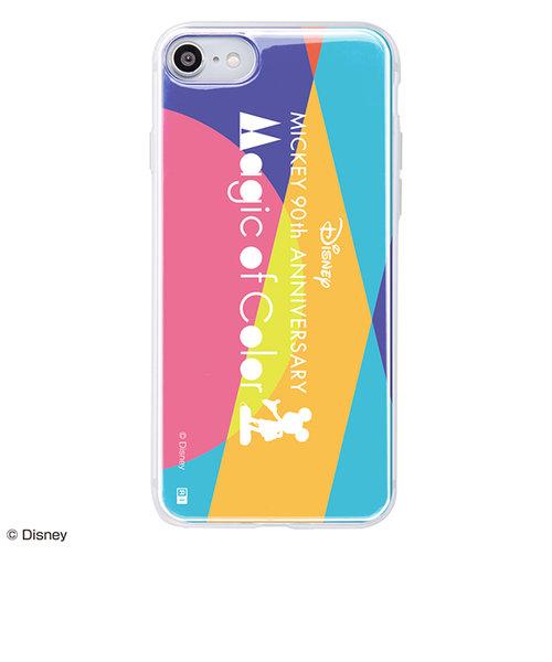 iPhone 8 / 7 /『ディズニーキャラクター』/TPUケース+背面パネル『ミッキーマウス 90周年/Colorful』_13