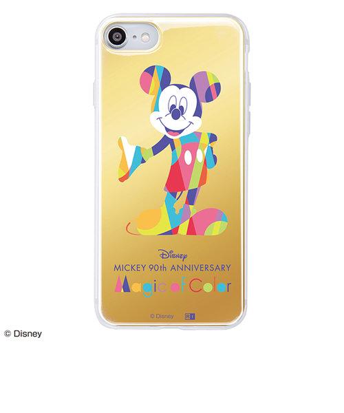 iPhone 8 / 7 /『ディズニーキャラクター』/TPUケース+背面パネルミッキーマウス 90周年&mall限定