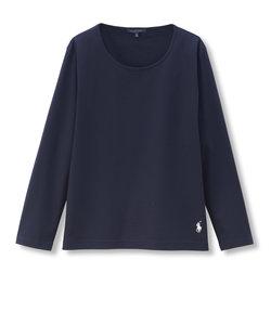 ポロロングスリーブ パジャマ長袖Tシャツ M
