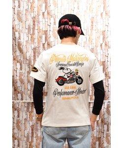 【FLAG STAFF(フラッグスタッフ)】×【SNOOPY】コラボ  ROAD TRIP 半袖Tシャツ 492011
