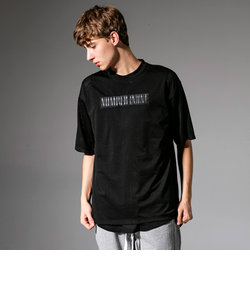 NUMBER (N)INE DENIM(ナンバーナインデニム) メッシュビッグTシャツ(ホワイト/ブラック)