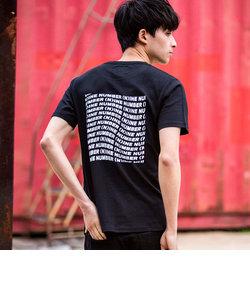 NUMBER (N)INE DENIM(ナンバーナインデニム) バックプリントTシャツ(ホワイト/グレー/ブラック)