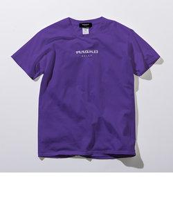 1PIU1UGUALE3 RELAX(ウノピゥウノウグァーレトレ) フロントロゴプリントTシャツ