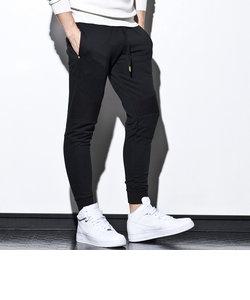 1PIU1UGUALE3 RELAX(ウノピゥウノウグァーレトレ) バイカースウェットジョガーパンツ(ブラック/グレー/ネイビー)メンズ/メンズファッション/
