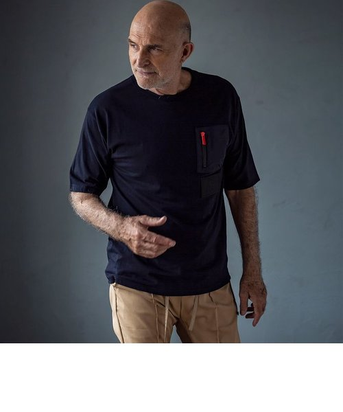 Kappa(カッパ)ポケットTシャツ(ホワイト/ブラック/ネイビー)