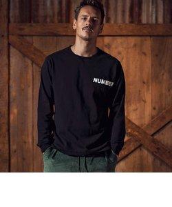 NUMBER (N)INE DENIM(ナンバーナインデニム)ロゴロングTシャツ(ホワイト/ブラック/グレー/パープル)