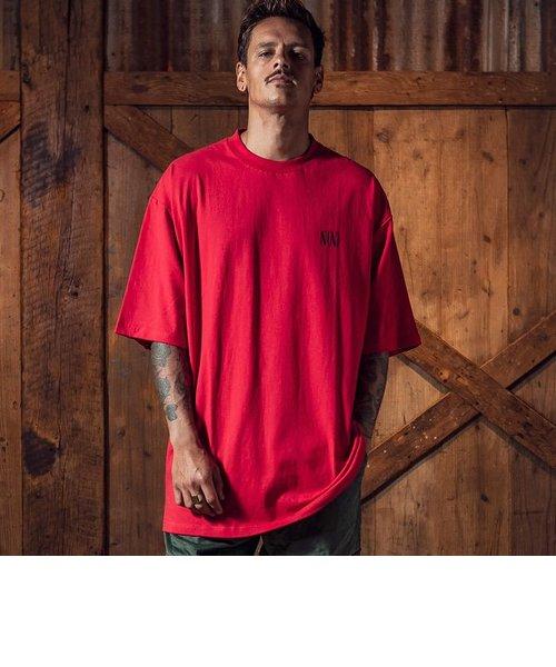 NUMBER (N)INE DENIM(ナンバーナインデニム)バックロゴビッグTシャツ(ホワイト/ブラック/レッド)