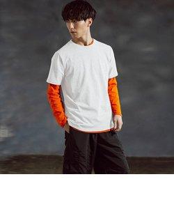 NUMBER (N)INE DENIM(ナンバーナインデニム)抗菌刺繍ロゴ半袖Tシャツ(ブラック/ホワイト/グレー)