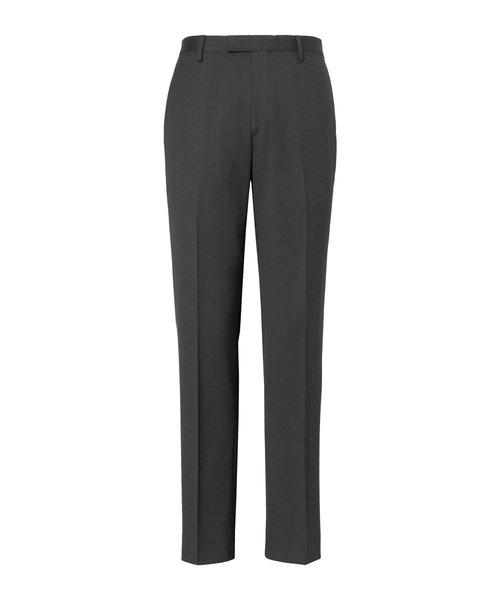 スリム ウールパンツ (裾未処理タイプ)