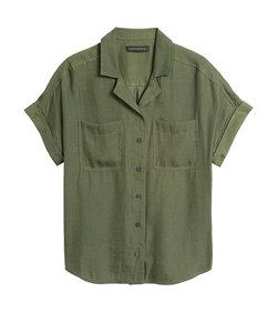 リラックス キャンプシャツ