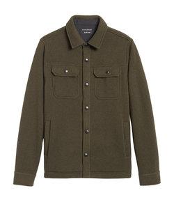 Polartec(R) セーターフリース シャツジャケット