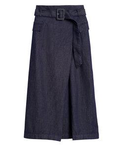 デニムミディスカート