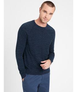 オーガニックコットン クルーネックセーター