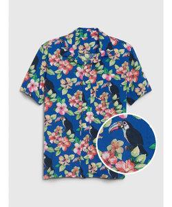 ハワイアン ボタンダウンシャツ (キッズ)