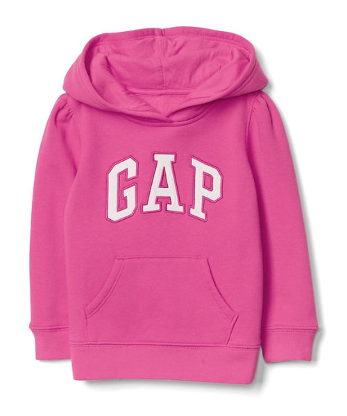Gap ロゴ プルオーバーパーカー