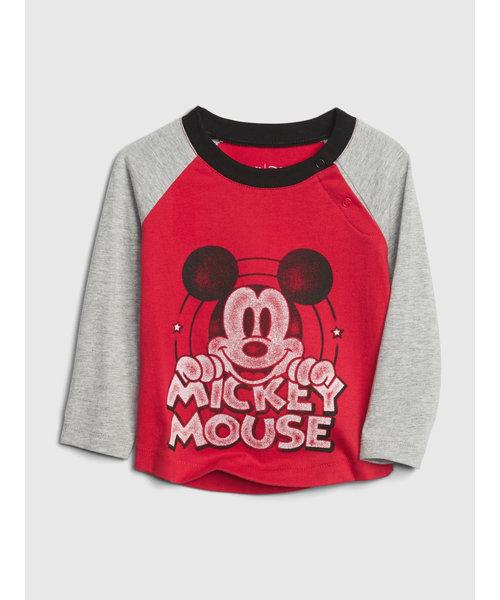 Babygap | Disney ミッキーマウス グラフィックラグランtシャツ