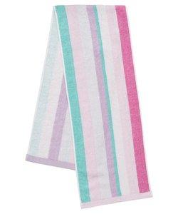 【日本製、冷感タオル】接触冷感でひんやり!クールスポーツタオル(ピンク)