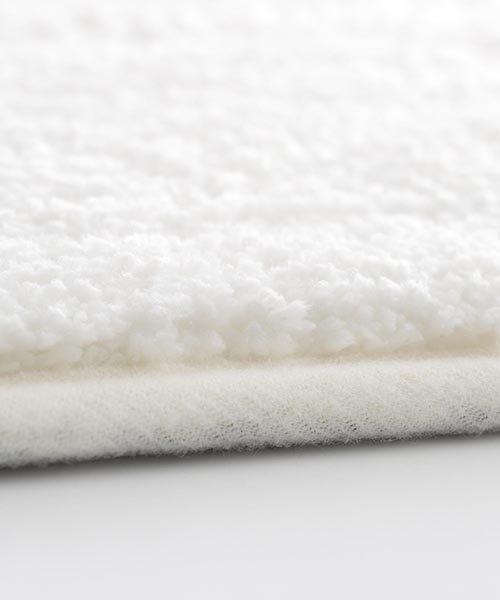 【吸水・速乾・抗菌・防臭素材】「休息工房」バスマット 約50×80cm チャコールグレー