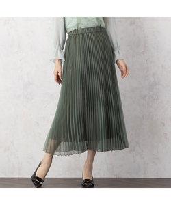 マットオーガンジープリーツスカート