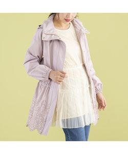 裾刺繍マウンテンパーカー