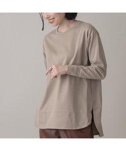 綿天竺ロングスリーブTシャツ