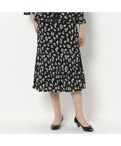 [セットアップ対応]小花プリントのエレガンススカート