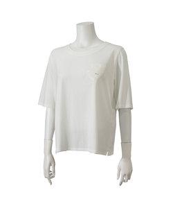 綿100% LBエンブレム刺繍入りTシャツ【大きいサイズ】