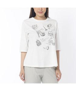 綿100% エッフェル塔 オリジナルプリントTシャツ【大きいサイズ】