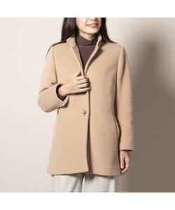 イタリア製素材 衿付きコート