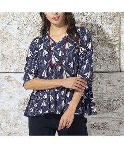 ドイツ製ミニヨットプリント Tシャツ