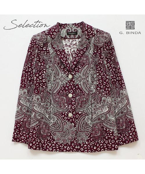 【Selection】BINDA アニマルペイズリー プリントジャケット