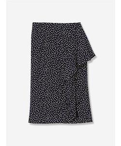 クローバープリントスカート