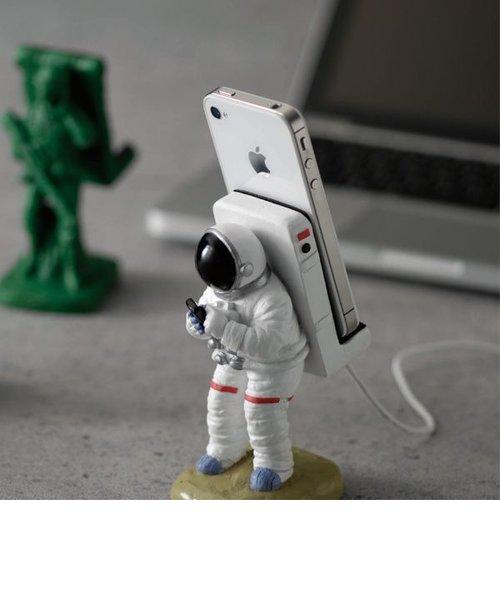 スマートフォンスタンド 宇宙飛行士
