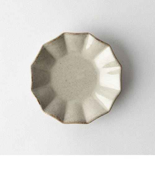 プリーツ丸小皿