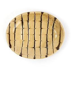 丹窓窯 楕円皿 18