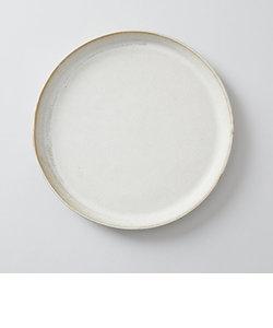 向山窯×TODAY'S SPECIAL FLAT PLATE 9寸 斑白
