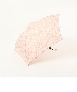 水彩ドット柄晴雨兼用軽量折りたたみ傘 雨傘