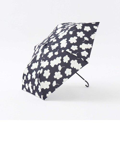 ワントーンフラワー晴雨兼用折りたたみ傘 雨傘