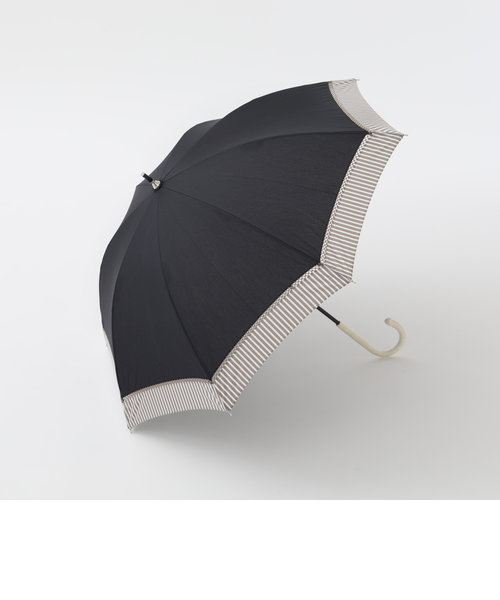 ヘムストライプ晴雨兼用長傘 日傘