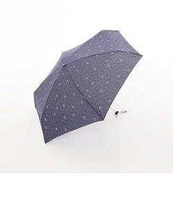 ハート柄晴雨兼用5段折りたたみ傘 雨傘