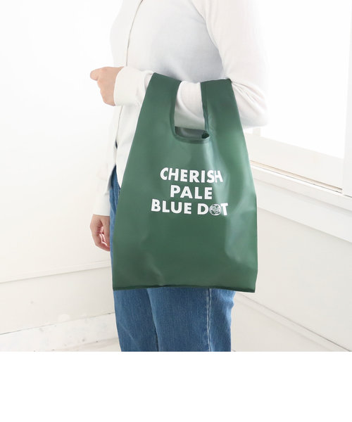 CHERISH PALE BLUE DOT/エコバッグS