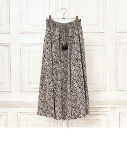 単色フラワースカート