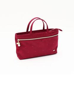 リボンモチーフ付きバッグインバッグ