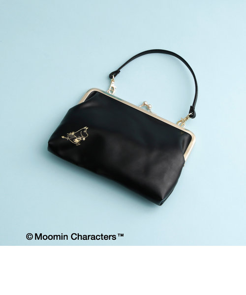 Moomin×AfternoonTea/ハンドバッグ型スリム母子手帳ポーチ