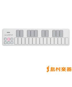 nanoKEY2 WH (ホワイト) MIDIキーボード スリムライン USB 25鍵盤