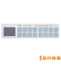 nanoPAD2 WH (ホワイト) MIDIコントローラー スリムライン USB