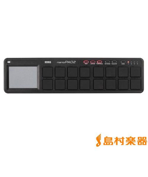 nanoPAD2 BK (ブラック) MIDIコントローラー スリムライン USB