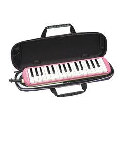 FA-32P ピンク メロディオン 鍵盤ハーモニカ 【セミハードケース付き】 【唄口・ホース付】