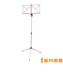 KB341F 譜面台 ピンク スチール製 【折りたたみ】