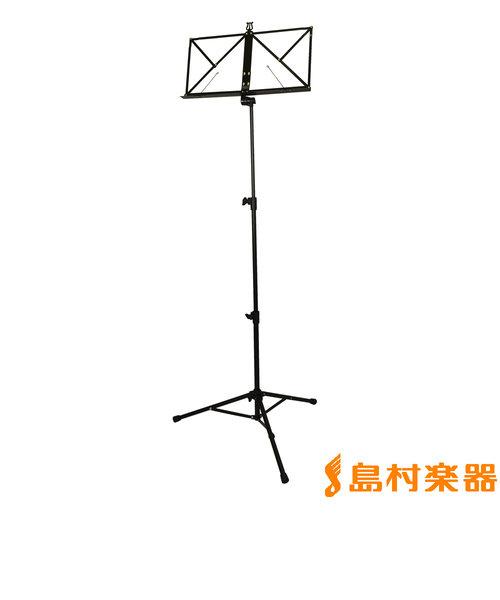 KB381F 譜面台 ブラック アルミ製 【折りたたみ】